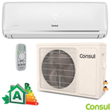 Ar Condicionado Split Hi-Wall Consul Inverter com 12.000 BTUs, Frio, Turbo, Branco