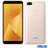 """Zenfone Max Plus (M1) Dourado Asus com Tela de 5,7"""", 4G, 32 GB e Câmera de 16+8MP - ZB570KL"""
