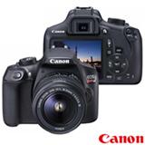 """Câmera Digital Canon EOS Rebel T6 DSLR Profissional com 18 MP, 3"""",  Gravação em Full HD - EOST6"""