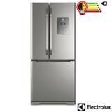 Refrigerador Multidoor Electrolux de 03 Portas Frost Free com 579 Litros Painel Eletrônico Inox - DM84X