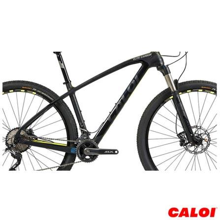 983a66f96 Bicicleta Caloi Elite Carbon Sport Aro 29 Preto Fosco