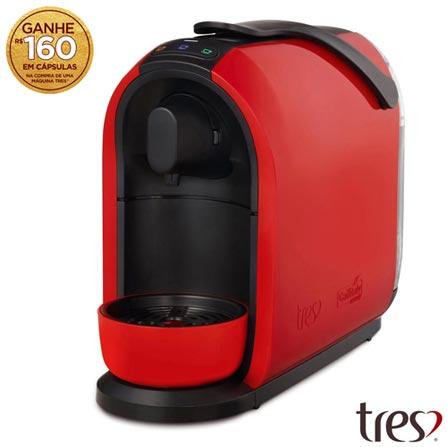 Menor preço em Cafeteira Três Corações Mimo S24 Vermelha para Café Espresso - 2003894