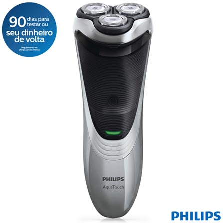 a6e07830d Barbeador Philips AquaTouch Uso Seco e Molhado - AT891/14