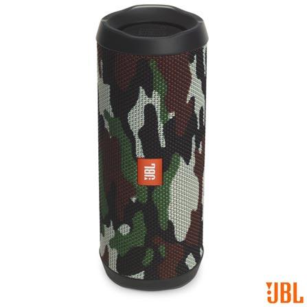 Caixa de Som Bluetooth JBL com Potência de 16W para iOS e Android Camuflado  - FLIP4 afa98ff952d