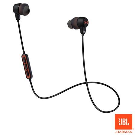 0b1050519a1 Fone de Ouvido Sem Fio JBL Under Armour BT Intra-auricular Preto -  JBLUNDERARMOURBTBLK