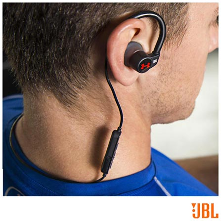 36735d26ac2 Fone de Ouvido sem Fio JBL Under Armour Heart Rate Intra-Auricular Preto -  JBLUNDERARH