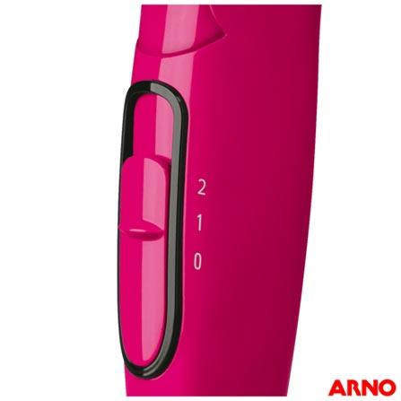 d77451def Secador de Cabelo Arno Nomad com 02 Velocidades e 1600W Rosa - Noma