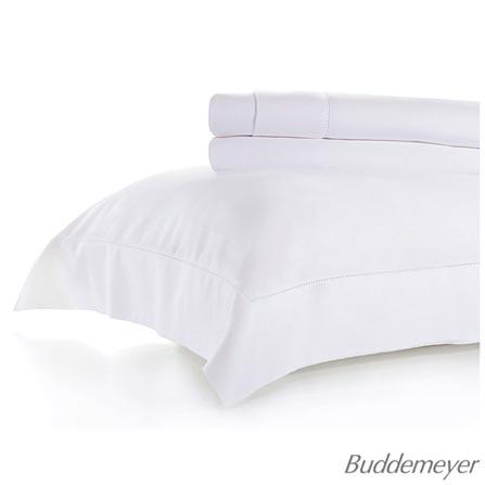 ace3a2373 Jogo de Cama Buddemeyer 270 Fios Bud Vision New Colors Queen Size com 04  Peças Branco