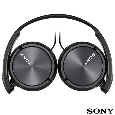 5d3e417f5 Fone de Ouvido Sony Headphone Preto - MDR-ZX310APB