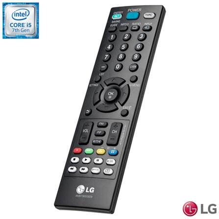 All In One LG, Intel Core i5, 8GB, 1TB, Tela de 23,8 - 24V570-C.BH32P1