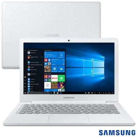 "Menor preço em Notebook Samsung, Intel Celeron N4000, 4GB, 128GB, Tela 13,3"", Branco Giz, Flash F30 - NP530XBB-AD2BR"