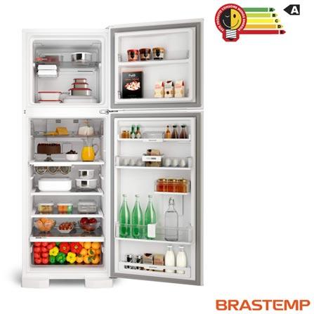 97cbcb48b Refrigerador de 02 Portas Brastemp Frost Free com 375 Litros e Painel  Eletrônico Branco - BRM45HB