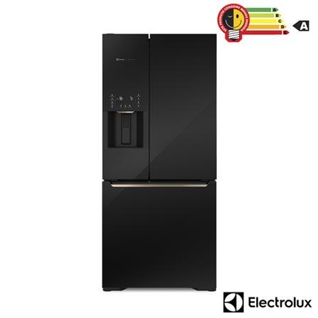 Menor preço em Refrigerador Multidoor Electrolux Pro Series de 03 Portas Frost Free com 538 Litros e Tecnologia Inverter, Preto - DM86V