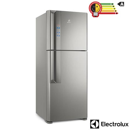 Menor preço em Refrigerador de 02 Portas Electrolux Frost Free com 431 Litros Inverter Top Freezer Platinum - IF55S