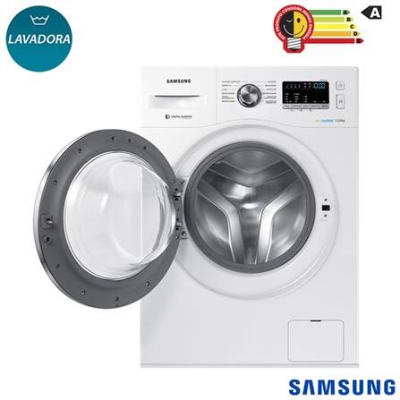 f1f6b4bfa Lavadora de Roupas 11 Kg Samsung Eco Bubble Branca com 12 Programas de  Lavagem - WW11J44530W