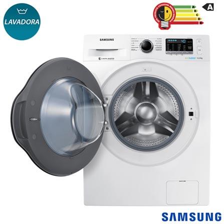 89905d2ee Lavadora de Roupas 11 Kg Samsung Eco Bubble Branca com 12 Programas de  Lavagem - WW11K6800AW