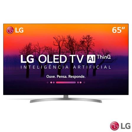 "Menor preço em Smart TV 4K LG OLED 65"" Ultra HD com Controle Smart Magic, WebOS 4,0, Dolby Atmos® e Wi-Fi - OLED65B8SSC"