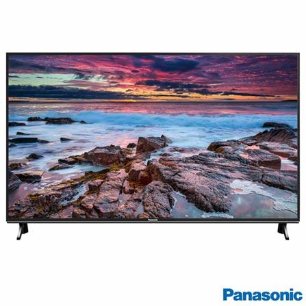 """Menor preço em Smart TV 4K Panasonic LED 65"""" com HDR, Hexa Chroma Drive Plus, Ultra Vivid, 4K Upscaling e Wi-Fi - TC-65FX600B"""