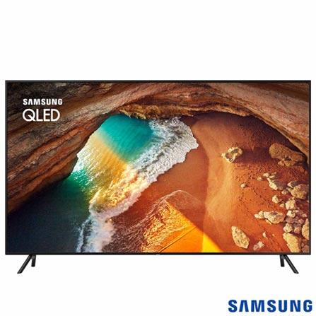 """Menor preço em Smart TV 4K Samsung QLED 55"""" UHD com Pontos Quânticos, Sem efeito Burn-in, HDR500 e Wi-Fi - QN55Q60RAGXZD"""