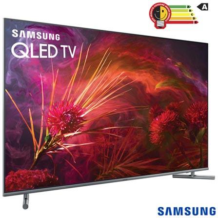 """6ef3c48e2 Smart TV 4K Samsung QLED UHD 55"""" com Tela de Pontos Quânticos ..."""