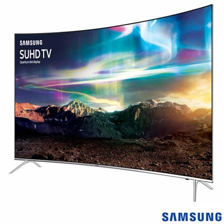 """c2f271bcb Smart TV SUHD 4K Samsung Curva LED 65"""" com Pontos Quânticos"""